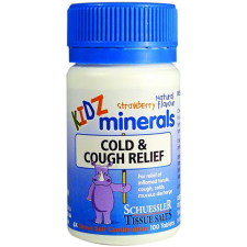 KIDZ MINERALS COLD & COUGH RELIEF 100Tabs