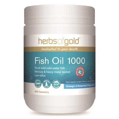 FISH OIL 1000 400Caps fish oils