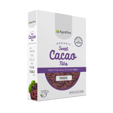 ORGANIC CACAO PURE SWEET NIBS 300g (BX16)