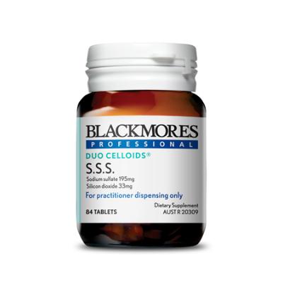 SSS SODIUM SULFATE SILICON DIOXIDE 84Tabs COMPLEX
