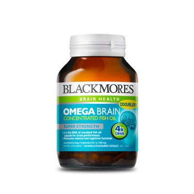 OMEGA BRAIN 60Caps Fish Oils