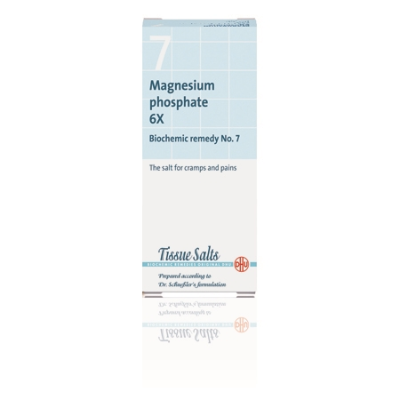 SCHUESSLER SALTS - MAGNESIUM PHOSPHATE 6X (No.7) 200Tabs Magnesium (Mg)