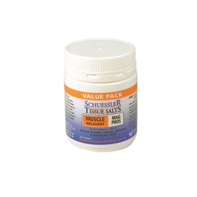 MAG PHOS 6x (MUSCLE RELAXANT) 250Tabs