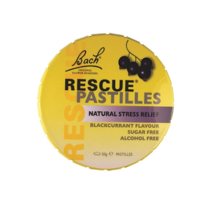 RESCUE REMEDY PASTILLES BLACKCURRANT 50g (BX12)