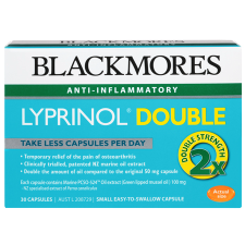 LYPRINOL DOUBLE 30Caps *TEMP UNAVAILABLE*