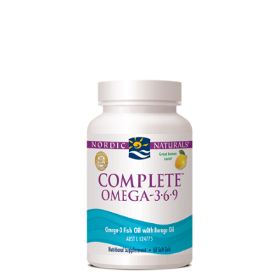 LEMON COMPLETE OMEGA 60Caps Fish Oils