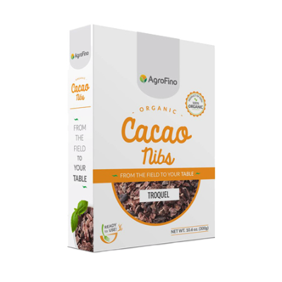 ORGANIC CACAO PURE NIBS 300g (BX16)