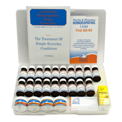 HOMEOPATHIC LARGE FIRST AID KIT *CTP*