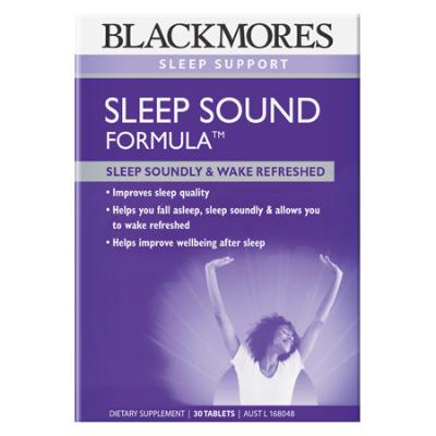 SLEEP SOUND FORMULA 30Tabs *TEMP UNAVAILABLE* COMPLEX