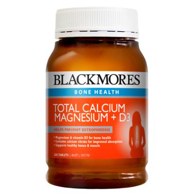 TOTAL CALCIUM, MAGNESIUM & D3 200Tabs COmplex