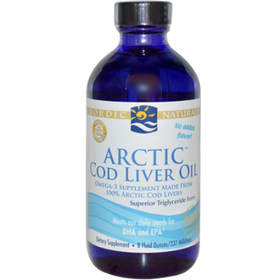UNFLAVOURED ARCTIC COD LIVER OIL 237ml Fish Oils