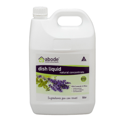 DISHWASHING LIQUID WILD LAVENDER & MINT REFILL 5L