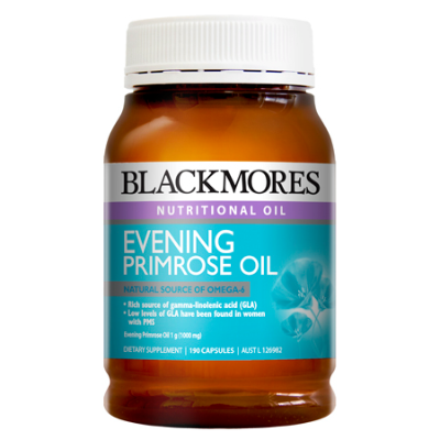 EVENING PRIMROSE OIL 1000mg 190Caps EPO (Evening Primrose Oil)