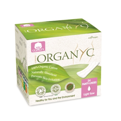 ORGANIC ULTRA THIN PANTY LINER LIGHT FLOW 24pk