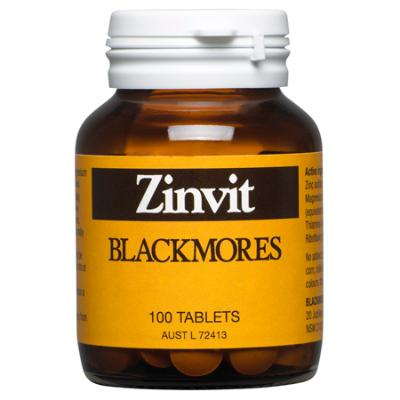 ZINVIT 100Caps Zinc (Zn)
