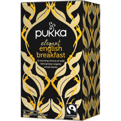 ELEGANT ENGLISH BREAKFAST TEABAGS 20pk