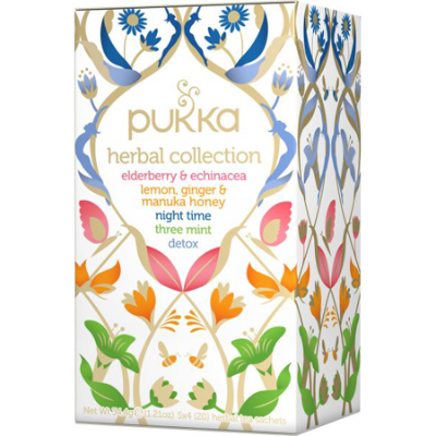 HERBAL COLLECTION MIX TEABAGS 20pk