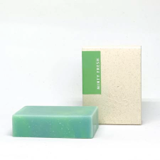 MINTY FRESH HANDMADE SOAP 100g