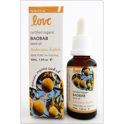 BAOBAB SEED OIL PURE ORGANIC 30ml