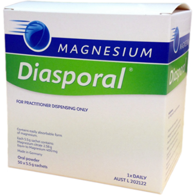 MAGNESIUM DIASPORAL ORAL POWDER 5.5g x 50Sch Magnesium (Mg)