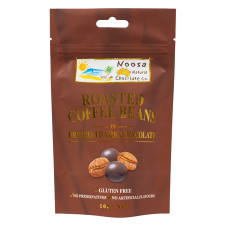 DARK CHOC COATED COFFEE BEANS 100g (BX6)