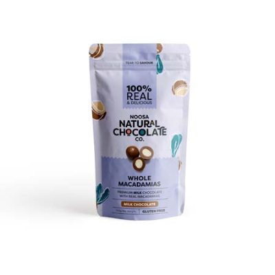 MILK CHOC COATED MACADAMIAS 100g (BX6)