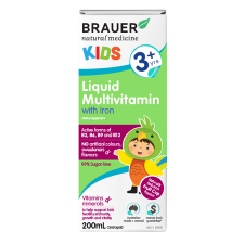 KIDS LIQUID MULTIVITAMIN WITH IRON 200ml