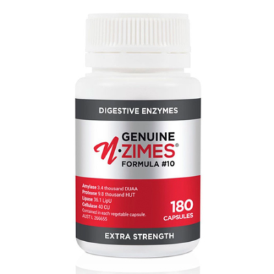 FORMULA #10 ENZYMES EXTRA STRENGTH 180Caps