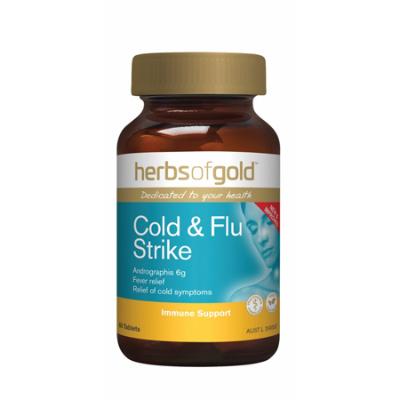 COLD & FLU STRIKE 60Tabs complex