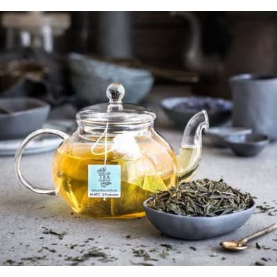 ORGANIC GREEN SENCHA LOOSE LEAF TEA 100g (BX8)