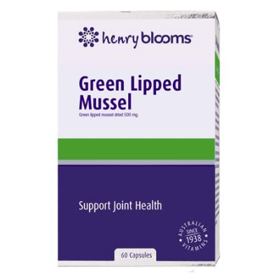 GREEN LIPPED MUSSEL 500mg 60Caps