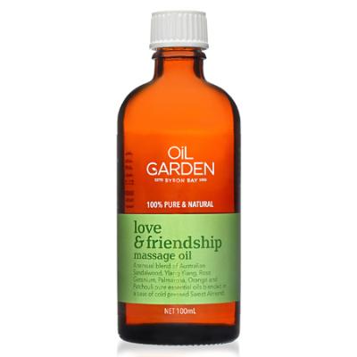 LOVE & FRIENDSHIP MASSAGE OIL BLEND 100ml