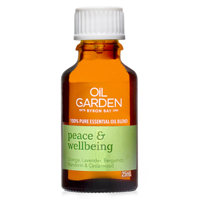 PEACE & WELLBEING ESSENTIAL OIL BLEND 25ml