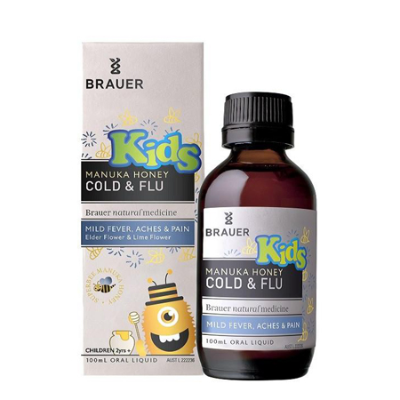 KIDS MANUKA HONEY COLD & FLU 100ml