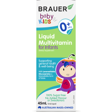 BABY & KIDS LIQUID MULTIVITAMIN FOR INFANTS 45ml