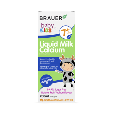 BABY & KIDS LIQUID MILK CALCIUM 200ml