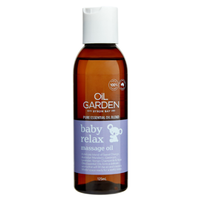 BABY RELAX MASSAGE OIL 125ml