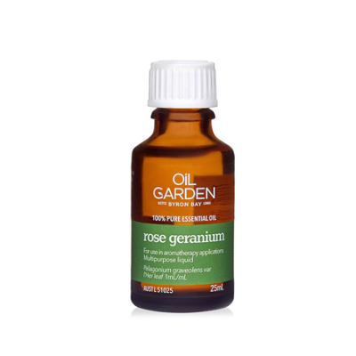 ROSE GERANIUM ESSENTIAL OIL 25ml