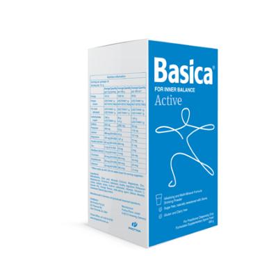 BASICA  ACTIV E ALKALISING MINERAL DRINK 300g Complex
