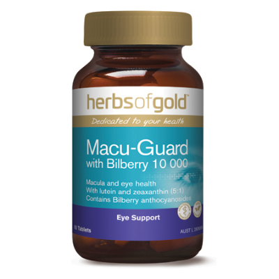 MACU-GUARD WITH BILBERRY 10000 60Tabs complex