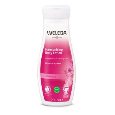 WILD ROSE PAMPERING BODY LOTION 200ml