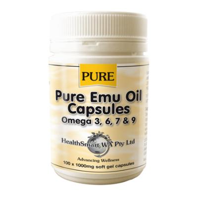 PURE EMU OIL 100Caps Complex