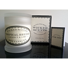 TROPICAL BREEZE CANDLE COCONUT LIME