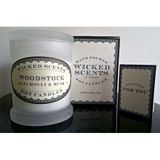 WOODSTOCK CANDLE PATCHOULI MUSK