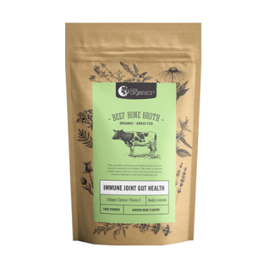 BEEF BONE BROTH GARDEN HERB 1Kg *COMMIT TO PURCHASE* *TEMP UNAVAILABLE*