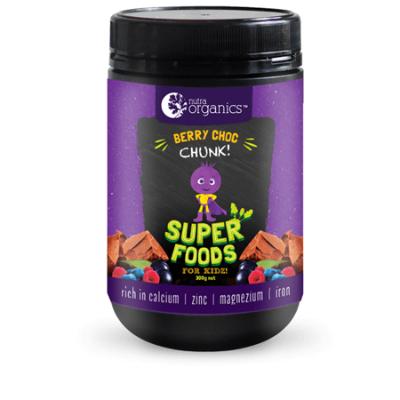 KIDZ SUPER FOODS BERRY CHOC CHUNK 300g