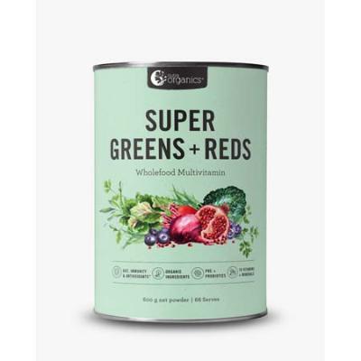 SUPER GREENS & REDS 600g