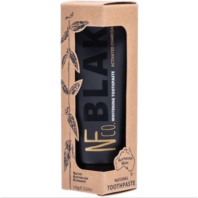 TOOTHPASTE BLAK ACTIVATED CHARCOAL WHITENING 100g