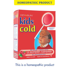 KIDS COLD LOZENGE ON A STICK 10pk