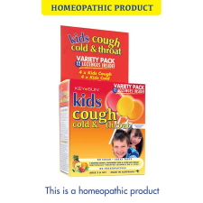 KIDS COUGH, COLD & THROAT LOZENGE ON A STICK VARIETY12pk